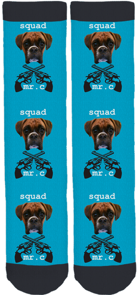 The Mister Charles Squad Gear Crew Socks