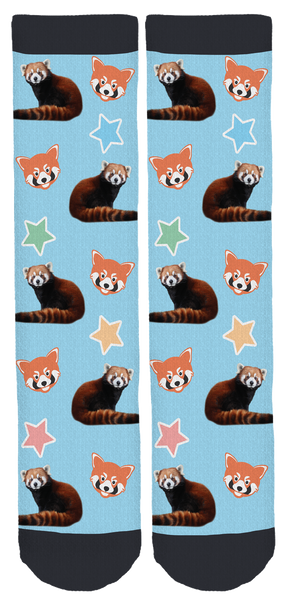 Green Bay AAZK Red Pandas Socks