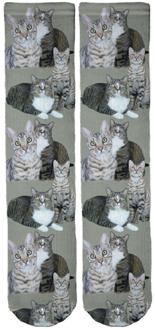 Limited Edition CATMANTOO Crew Socks
