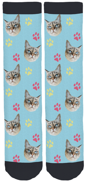 Sauerkraut the Cat Crew Socks
