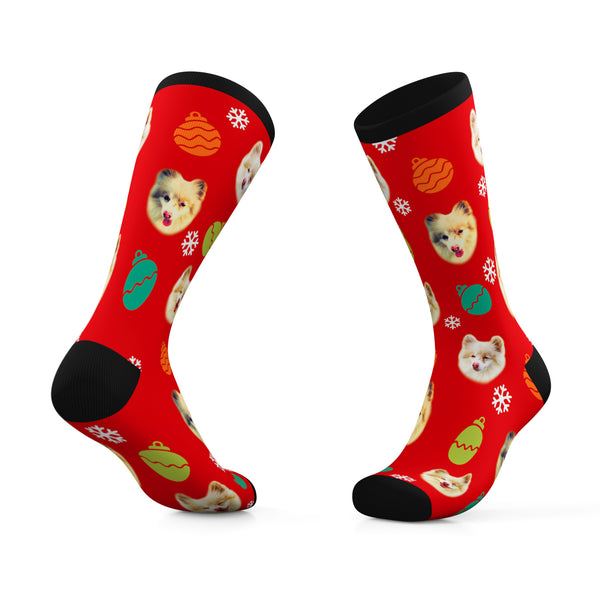 Snooty Giggles Dog Rescue Holiday Socks