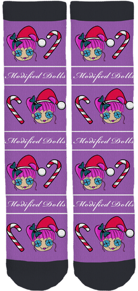 The Modified Dolls Holiday Socks