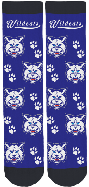 Lyme-Old Lyme Wildcats Crew Socks