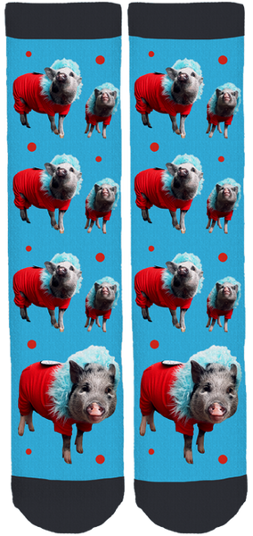 Paddington Baird the Pig Crew Socks