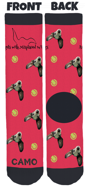 Angels With Misplaced Wings Crew Socks