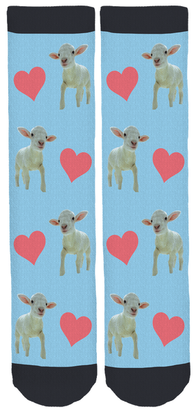 Cedar Row Farm Sanctuary Crew Socks