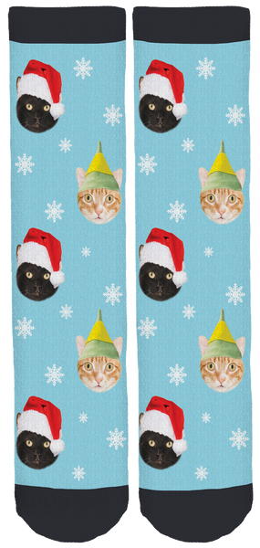 Cole & Marmalade Christmas Crew Socks