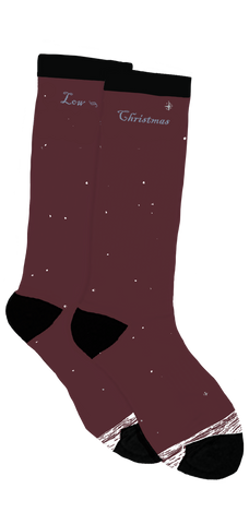 Low Holiday Crew Socks