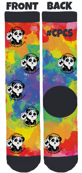 Cobra Panda Cycle Society Crew Socks