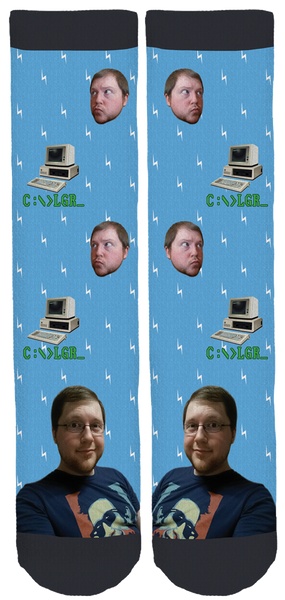 Lazy Game Reviews Crew Socks