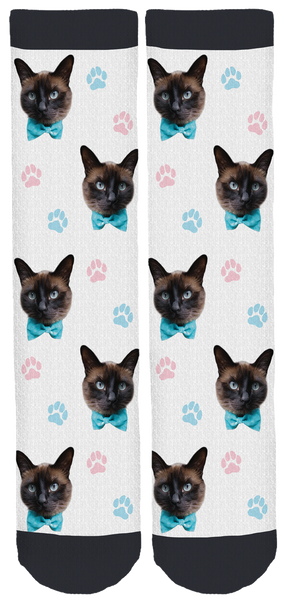 Cola the Cat Crew Socks