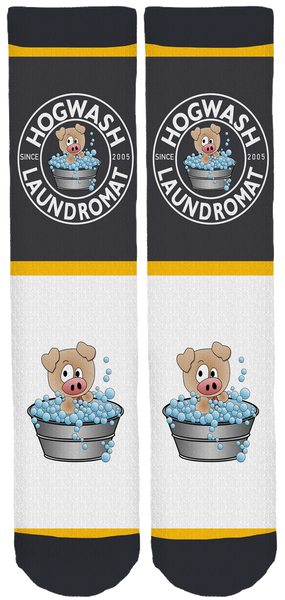 Hogwash Laundromat Crew Socks