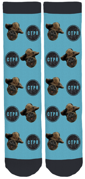 Central Texas Pig Rescue Crew Socks