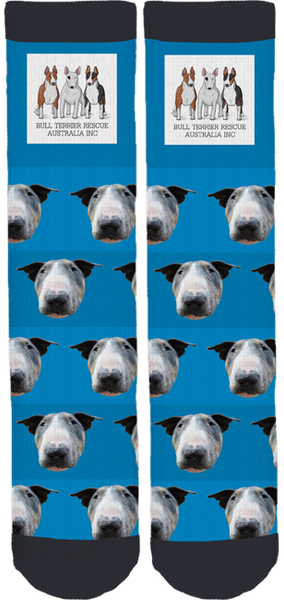 Bull Terrier Rescue Australia Inc. Socks