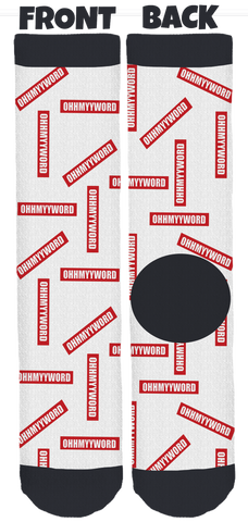 Limited Edition OHHMYYWORD Crew Socks