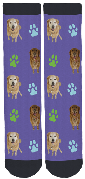 Double Trouble Retrievers Crew Socks
