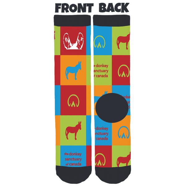 The Donkey Sanctuary of Canada Crew Socks