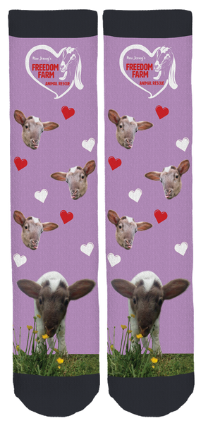 Freedom Farm Animal Rescue Crew Socks