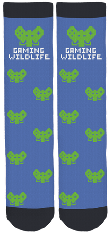 Gaming Wildlife Crew Socks