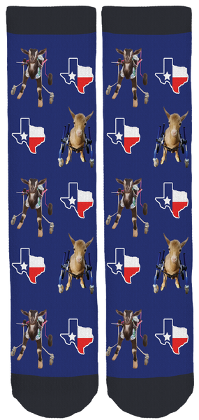 Goats of Anarchy for Houston Crew Socks