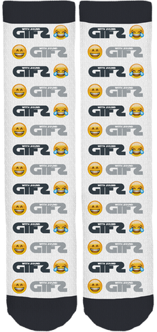 GIF's with Sound Emoji Socks