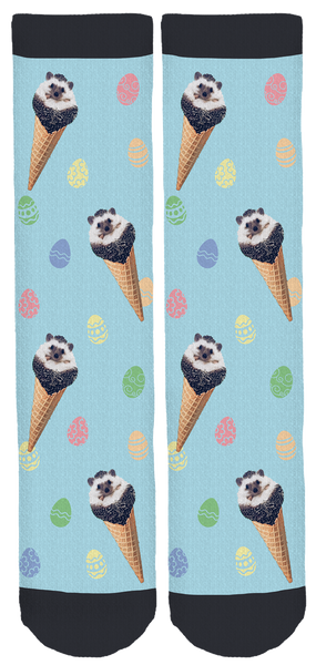 Mr.Pokee Easter Socks