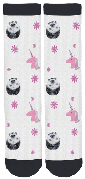 Mr. Pokee Holiday Crew Socks
