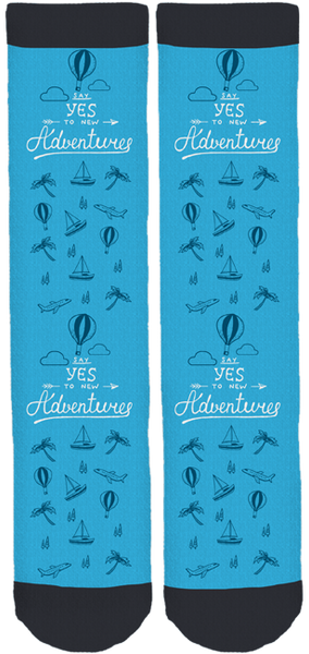 Limited Edition How Far From Home Adventure Socks