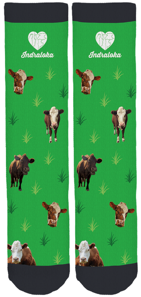 Indraloka Animal Sanctuary Crew Socks