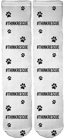 Limited Edition T.E.A.M. Dog Rescue Crew Socks