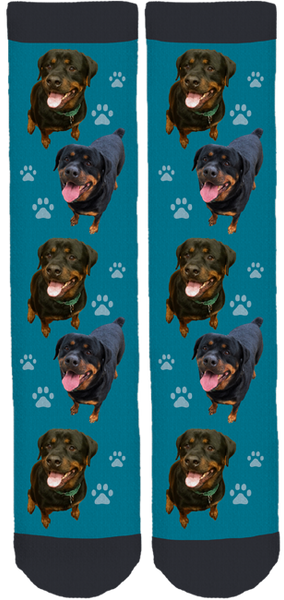 Jake the Rottie Crew Socks