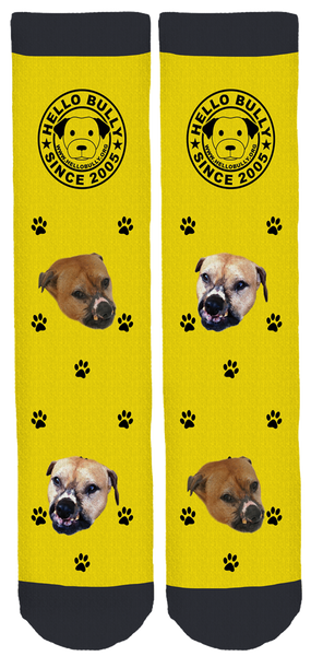 New Limited Edition Hello Bully Bamboo Crew Socks!