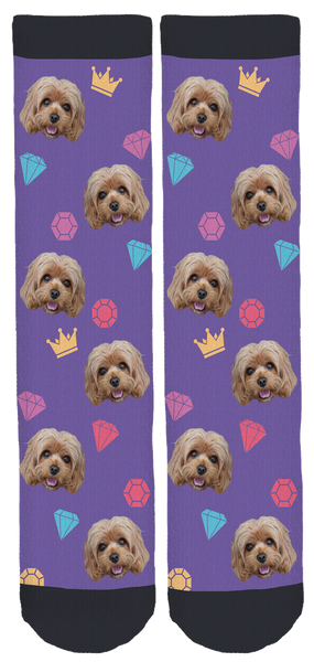 Princess Jazz Crew Socks