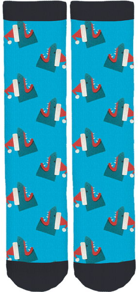Great White Christmas Socks