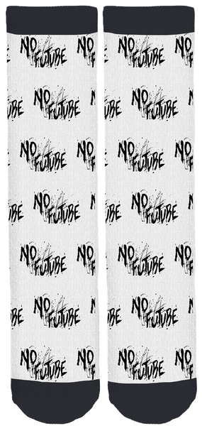 "Shaun Frank ""No Future"" Crew Socks"