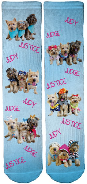 Judge Judy Lim Crew Socks