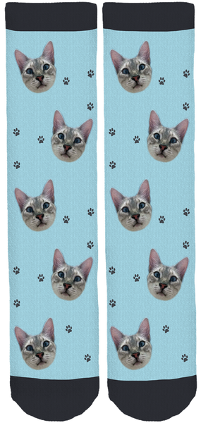 Limited Edition Demon Cat Crew Socks
