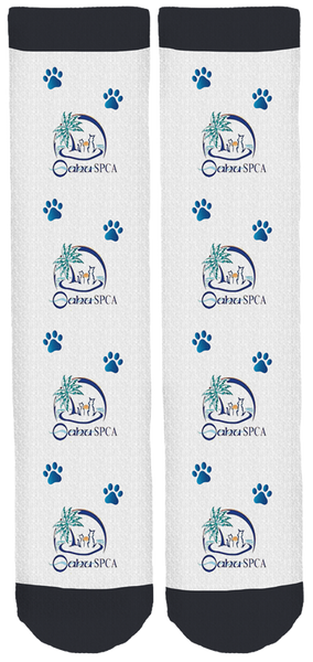 Limited Edition Oahu SPCA Crew Socks