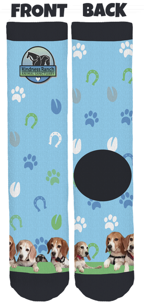 Kindness Ranch Animal Sanctuary Crew Socks