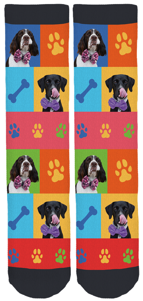 Limited Edition 3muttpaws Crew Socks