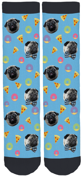 Lil' Pickles Da Pug Crew Socks