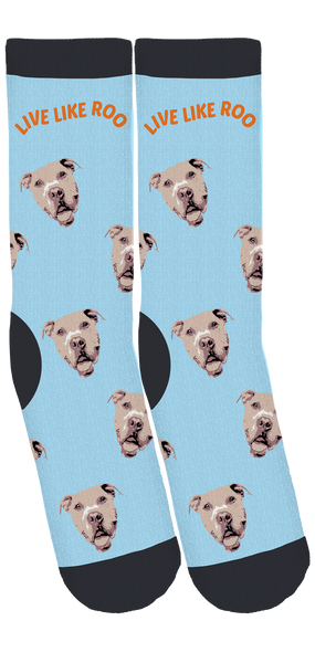 Live Like Roo Foundation Crew Socks