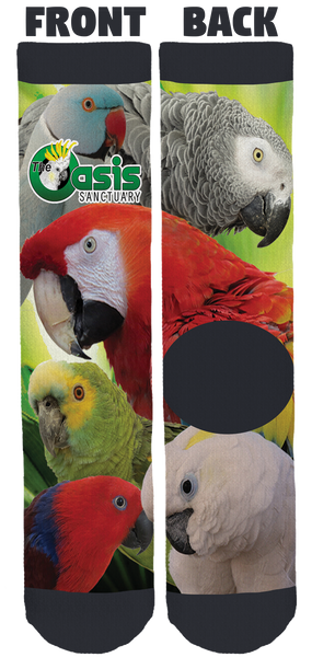 The Oasis Sanctuary Crew Socks