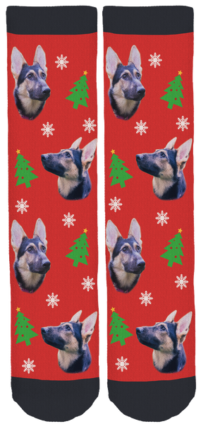 Honey Holiday Crew Socks