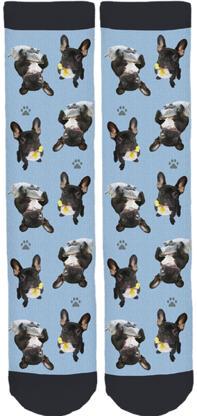 Ren̩e Frenchie Crew Socks