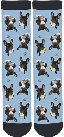Renée Frenchie Crew Socks