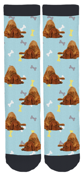 Dogue de Bordeaux Rescue Crew Socks