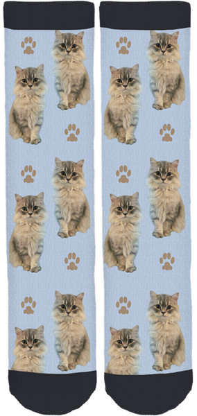 Tommy the Cat Crew Socks