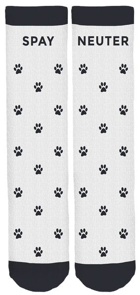 Charm City Animal Rescue Crew Socks