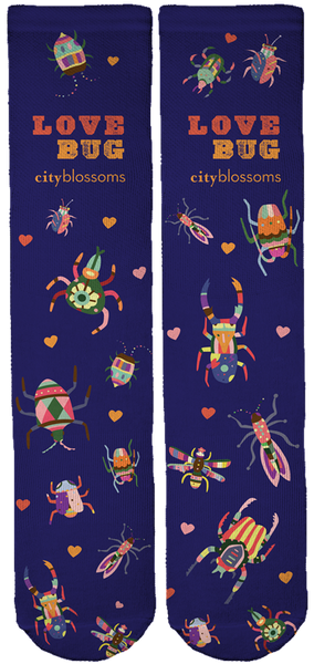 LIMITED EDITION CITY BLOSSOMS CREW SOCKS